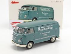 Volkswagen VW T1b Transporter Messerschmitt grøn 1:18 Schuco