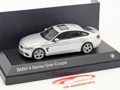 BMW 4er 4 Series (F36) Gran Coupe plata 1:43 Kyosho