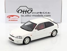 Honda Civic Type R EK9 anno di costruzione 1999 bianco 1:18 OttOmobile