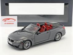 BMW M4 Convertible gray 1:18 ParagonModels