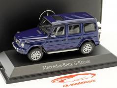 Mercedes-Benz G-klasse (W463) strålende blå metallisk 1:43 Norev