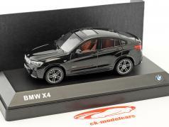 BMW X4 (F26) saphir schwarz metallic 1:43 Herpa