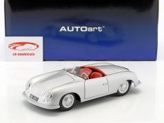 Porsche 356 nummer 1 Opførselsår 1948 sølv 1:18 AUTOart