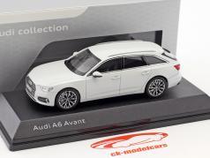 Audi A6 Avant glacier white 1:43 iScale