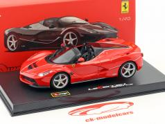 Ferrari LaFerrari Aperta rood 1:43 Bburago Signature