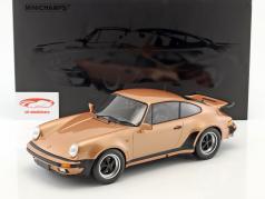 Porsche 911 (930) Turbo Baujahr 1977 pink metallic 1:12 Minichamps