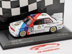 BMW M3 (E30) #15 DTM チャンピオン 1989 Roberto Ravaglia 1:43 Minichamps