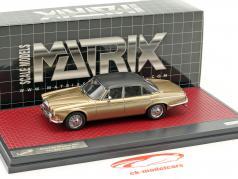 Daimler Double Six Vanden Plas S1 year 1973 sand metallic 1:43 Matrix