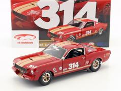 Ford Mustang Shelby GT350H #314 year 1966 red with gold stripes 1:18 GMP
