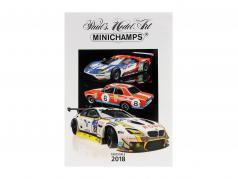 Minichamps catálogo edição 2 2018