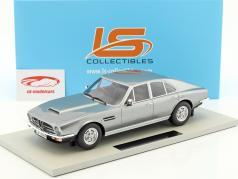 Aston Martin Lagonda Bouwjaar 1974 zilver 1:18 LS Collectibles