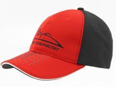 Michael Schumacher kasket Speedline rød / sort