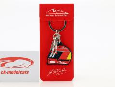 Michael Schumacher Keyring Helmet 2000 red