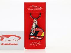 Michael Schumacher Schlüsselanhänger Helm 2000 rot