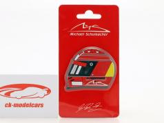 Michael Schumacher Fridge magnet Helmet 2000 red