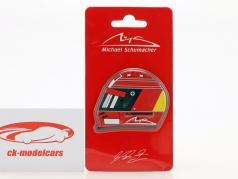 Michael Schumacher nevera imán casco 2000 rojo