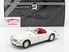 MGA MKII A1600 abierto convertible año de construcción 1961 blanco 1:18 Triple9