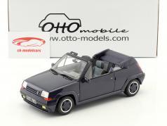 Renault 5 GT Turbo cabriolé by EBS año de construcción 1990 azul 1:18 OttOmobile