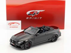 Brabus 650 敞篷车 建造年份 2017 黑 1:18 GT-Spirit