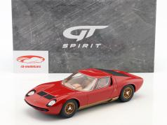 Lamborghini Miura P400S año de construcción 1969 rojo 1:18 GT-Spirit