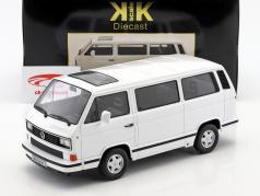 Volkswagen VW bus T3 White Star Opførselsår 1993 hvid 1:18 KK-Scale
