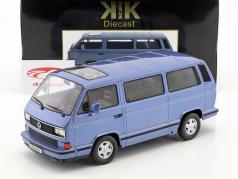 Volkswagen VW bus T3 Blue Star Opførselsår 1993 lyseblå metallisk 1:18 KK-Scale