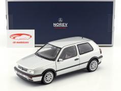 Volkswagen VW Golf III GTI ano de construção 1996 20 anos GTI prata metálico 1:18 Norev