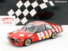 BMW 635 CSi #7 5e Grand Prix BRNO 1984 Brancatelli, Kelleners 1:18 Minichamps