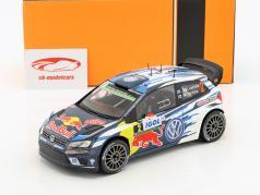 Volkswagen VW Polo R WRC  #2 4 ° Tour de Corse 2016 Latvala, Anttila 1:18 Ixo