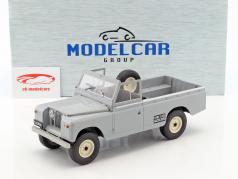 Land Rover 109 Series II Pick-Up Baujahr 1959 grau 1:18 Model Car Group