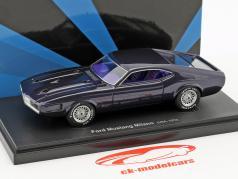 Ford Mustang Milano USA anno 1970 buio viola 1:43 AutoCult