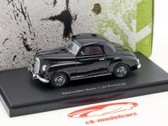 Mercedes-Benz 1,2L prototype year 1948 black 1:43 AutoCult