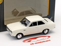 Ford Escort MK I branco 1:43 Cararama