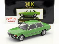 BMW 318i E21 Baujahr 1975 grün 1:18 KK-Scale