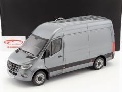 Mercedes-Benz sprinter van Opførselsår 2018 selenitgrau metallisk 1:18 Norev