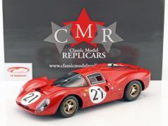Ferrari 330 P4 #21 segundo 24h LeMans 1967 Scarfiotti, Parkes 1:12 CMR