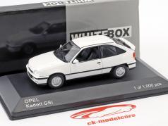Opel Kadett GSI año de construcción 1986 blanco 1:43 WhiteBox