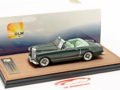 Bentley S1 DHC Graber Open year 1956 dark green 1:43 GLM