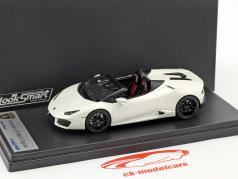 Lamborghini Huracan LP 580-2 Spyder blanc perle 1:43 LookSmart