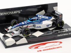 Mika Salo Tyrrell 023 #4 8ste Belgisch GP formule 1 1995 1:43 Minichamps