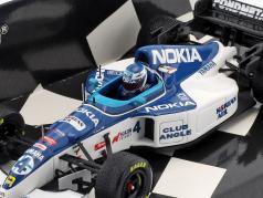 Mika Salo Tyrrell 023 #4 8. belgisk GP formel 1 1995 1:43 Minichamps