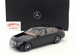 Mercedes-Benz E-klasse (W213) AMG Line obsidian sort 1:18 iScale