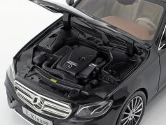 Mercedes-Benz Clase E (W213) AMG Line obsidiana negro 1:18 iScale