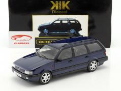 Volkswagen VW Passat B3 Variant år 1988 blå 1:18 KK-Scale