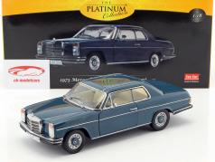 Mercedes-Benz Strich 8 coupe year 1973 dark blue 1:18 Sun Star