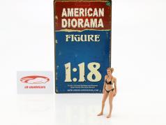 calendrier fille avril en bikini 1:18 American Diorama
