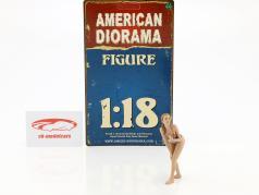 calendario chica mayo en bikini 1:18 American Diorama