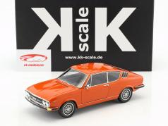Audi 100 Coupe S year 1970 Orange 1:18 KK-Scale