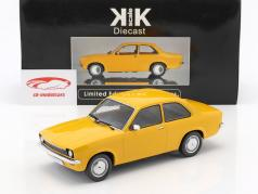 Opel Kadett C Limousine Year 1973-1977 ocher yellow 1:18 KK-Scale