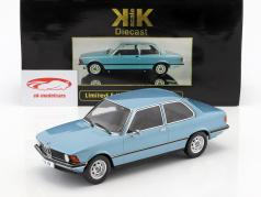BMW 318i E21 year 1975 light blue metallic 1:18 KK-Scale